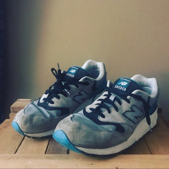 ae29877619ce7 NEW BALANCE 999 SOUND AND STAGE RUNNING SHOE TEAL.  M_5a5d40f55521be19dfc224e9